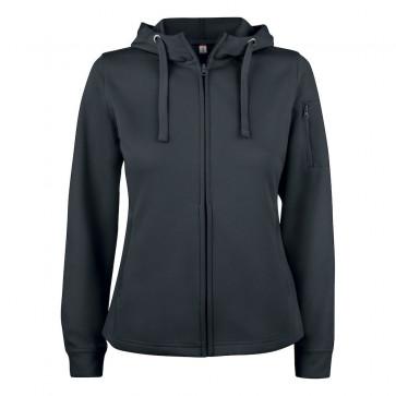 Clique - Basic active hoody full zip dame