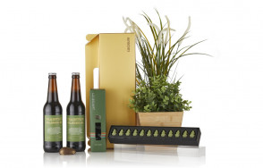 """Easter giftbox """"grønne"""" mini frøer"""