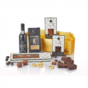 PR Chokolade - Guldbox Classic med portvin