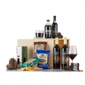 PR Chokolade - Hyggelig jul i træboks