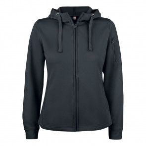 Clique - Basic active hoody full zip dame