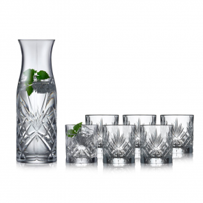 Lyngby Glas Karaffelsæt