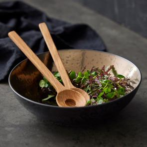 F&H - BITZ salatskål & -bestik