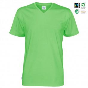 CottoVer - T-shirt V-hals herre