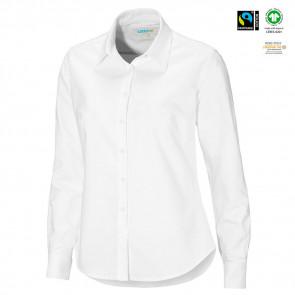 CottoVer - Oxford skjorte L/Æ dame