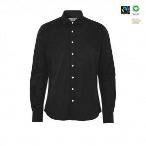 CottoVer - Twill skjorte slim fit herre