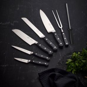 F&H - Lion Sabatier knivsæt 7 dele