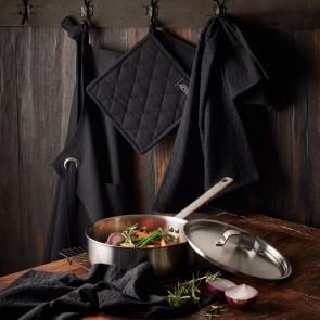F&H - Pillivuyt Gourmet sautérpande somme & Pillivuyt tekstiler