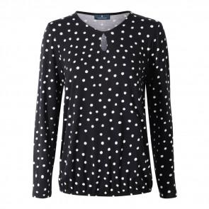 CLIPPER - Bluse med fin halsudskæring dame