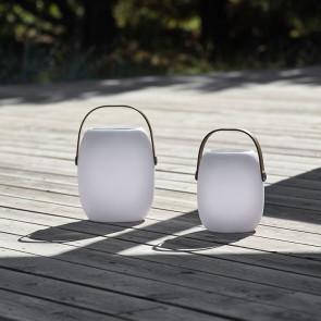 F&H - LED lampe med højtaler, stor