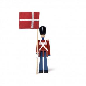 Kay Bojesen - Fanebærer mini med tekstilflag