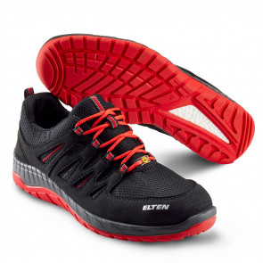 Elten Maddox Black-Red Low