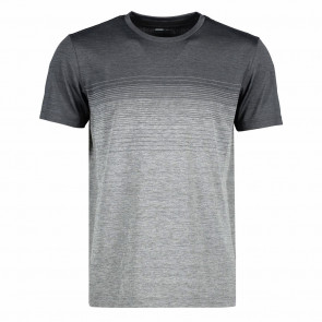 GEYSER - Seamless striped s/s t-shirt herre