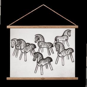 Rosendahl - Kay Bojesen Zebra og zebra plakat