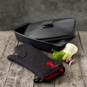 Weber - Stegefad/stegeso med grillhandske
