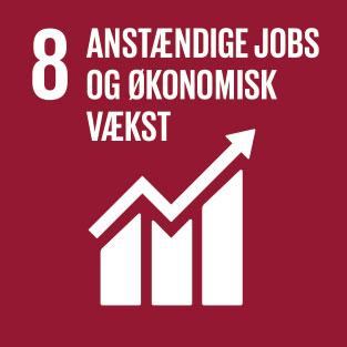 8. Anstændige jobs og økonomisk vækst