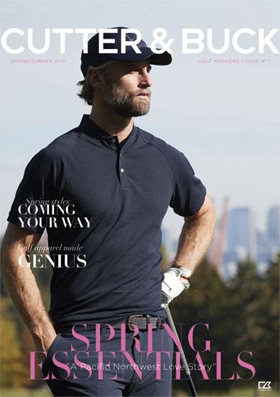 Cutter and Buck katalog, Sportswear golftryk