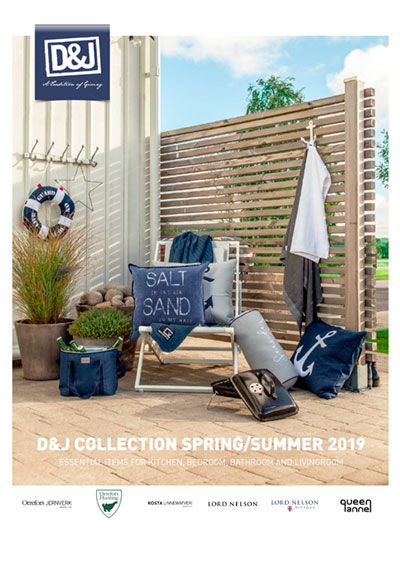 D&J katalog, Gaveartikler textiler