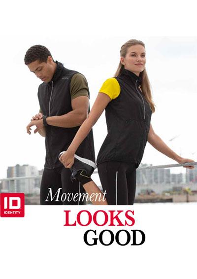 ID Identity katalog, Sportswear