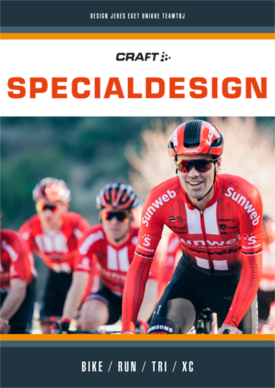 Craft Special design, Sportswear