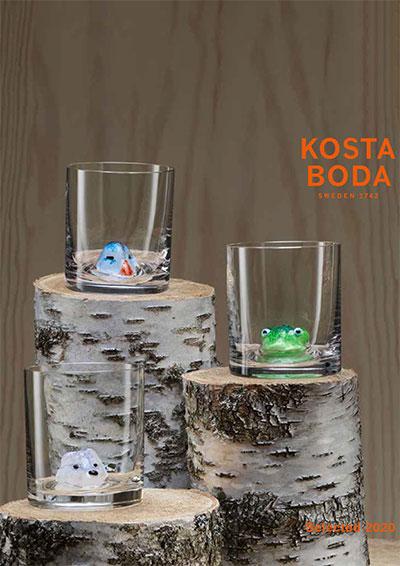 Kosta Boda katalog, Gaveartikler glas