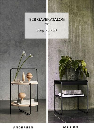 Andersen Furniture katalog, Gaveartikler