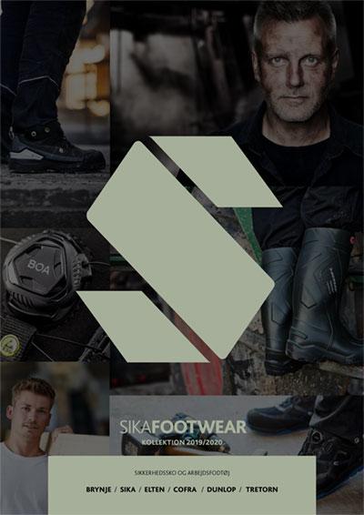 Sika footwear katalog, Sko
